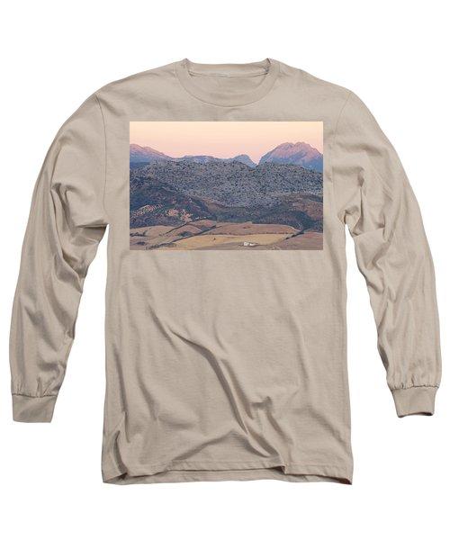 Sunrise At Mirador De Ronda Long Sleeve T-Shirt