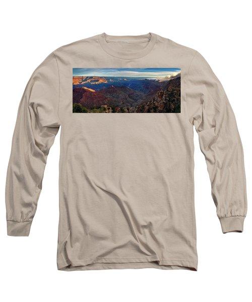 Sunrise At Navajo Point Long Sleeve T-Shirt