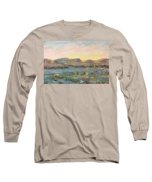 Sunrise At The Pond Long Sleeve T-Shirt
