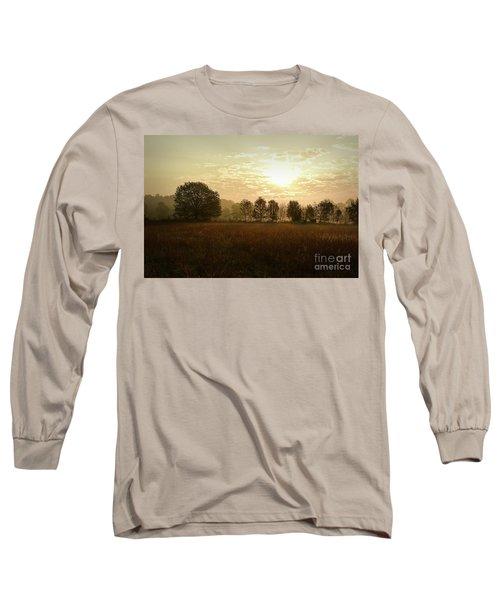 Sunrise Autumn Equinox 2017 Long Sleeve T-Shirt