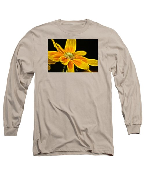 Long Sleeve T-Shirt featuring the photograph Sunrise Daisy by Cameron Wood