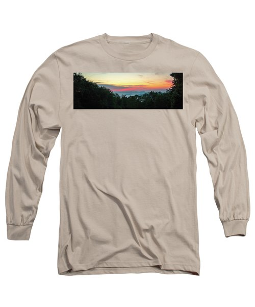 Sunrise From Maggie Valley August 16 2015 Long Sleeve T-Shirt