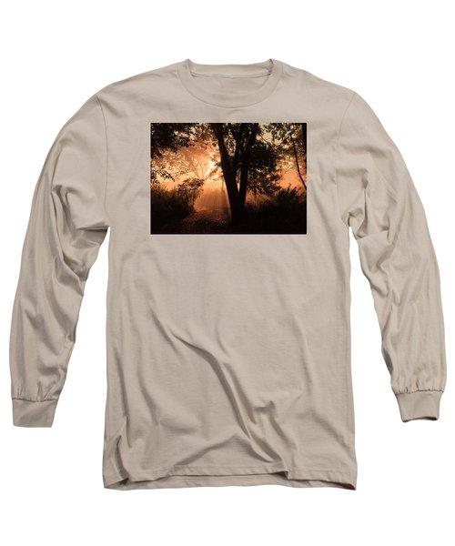 Sunrise In The Marsh 3 Long Sleeve T-Shirt by Joni Eskridge