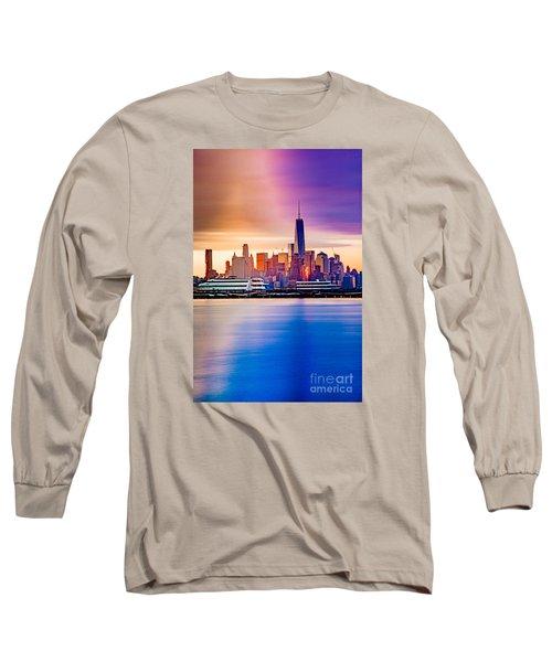Sunrise On Freedom Long Sleeve T-Shirt