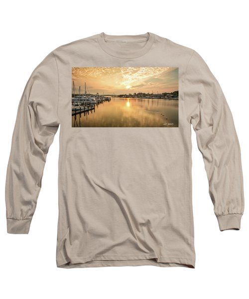 Sunrise On Spa Creek Long Sleeve T-Shirt