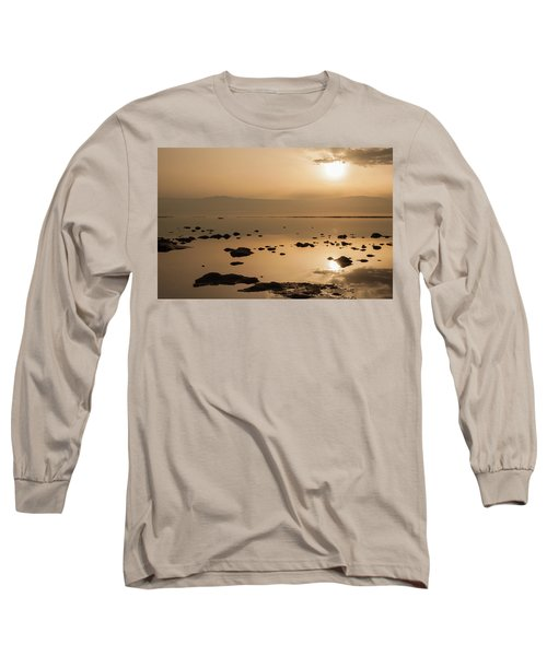 Sunrise On The Dead Sea Long Sleeve T-Shirt