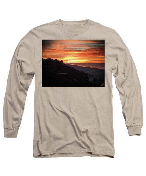 Sunrise Over Santa Rosa Beach Long Sleeve T-Shirt