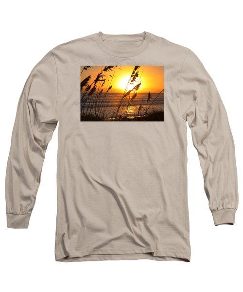 Sunrise Silhouette Long Sleeve T-Shirt by Robert Och