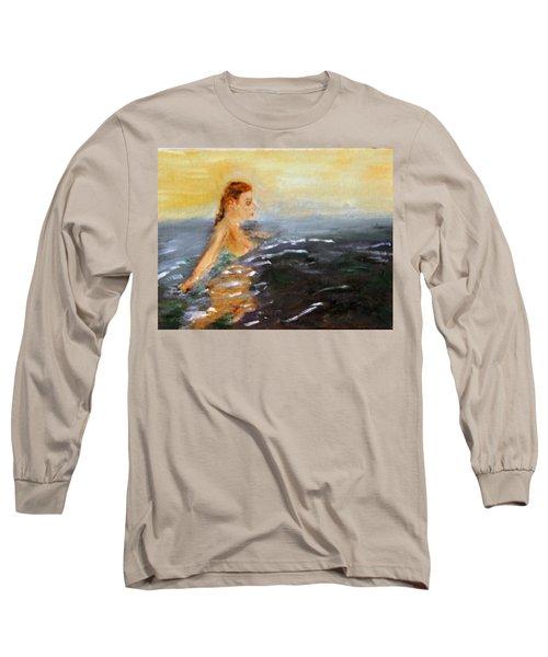 Sunrise Swim Long Sleeve T-Shirt