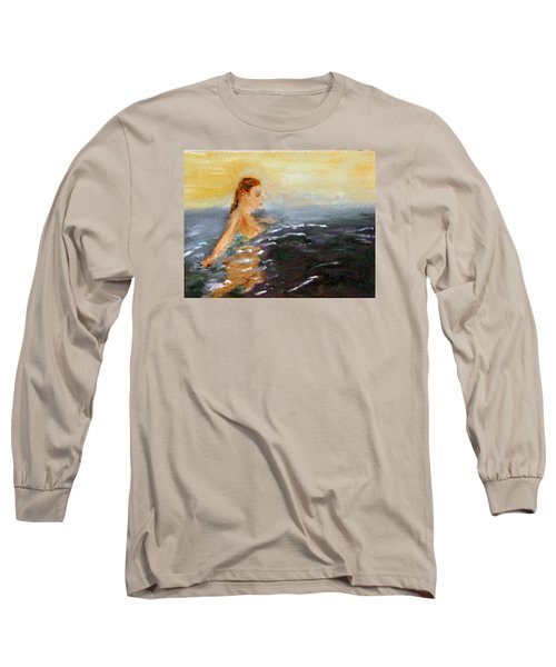 Sunrise Swim Long Sleeve T-Shirt