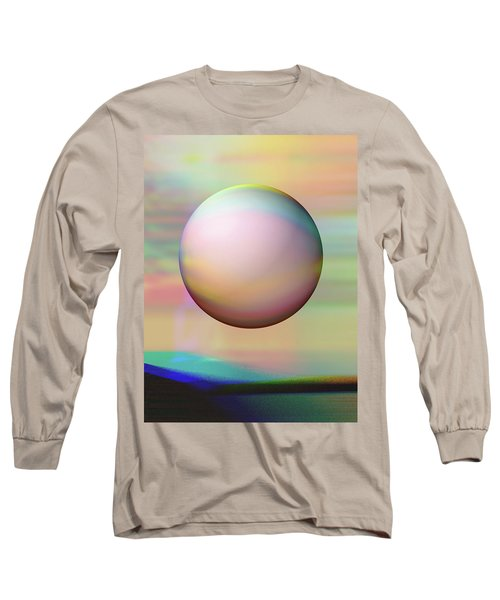 Long Sleeve T-Shirt featuring the digital art Sunrise Visitor by Wendy J St Christopher