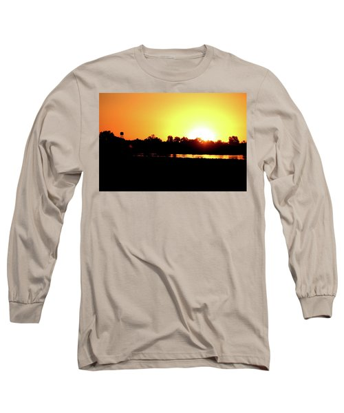 Sunrise Water Tower Long Sleeve T-Shirt