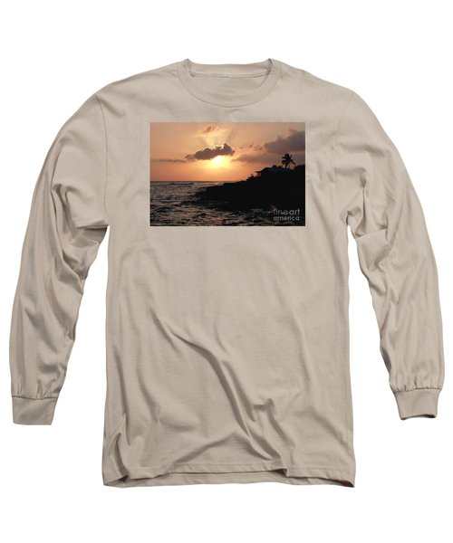 Sunset @ Spotts Long Sleeve T-Shirt by Amar Sheow