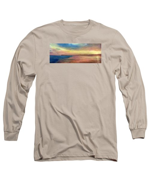 Sunset And Pier Long Sleeve T-Shirt