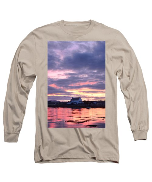 Sunset At Clachnaharry Long Sleeve T-Shirt