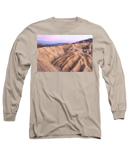 Sunset At Zabriskie Long Sleeve T-Shirt