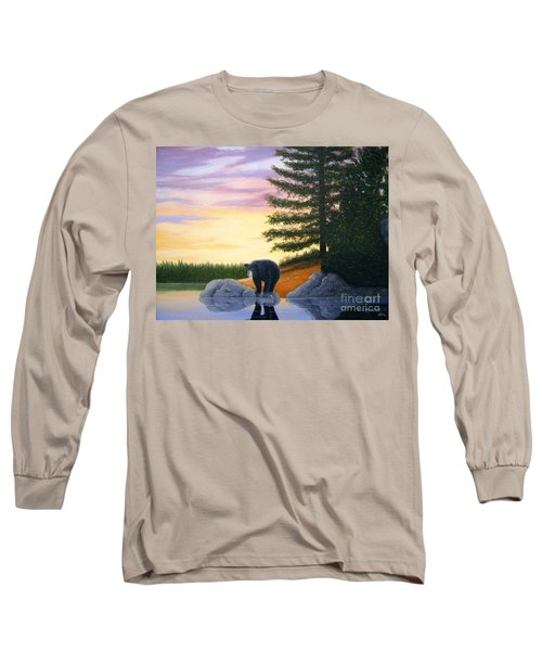 Sunset Bear Long Sleeve T-Shirt