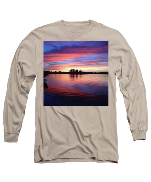 Long Sleeve T-Shirt featuring the photograph Sunset Dreams by Rebecca Wood