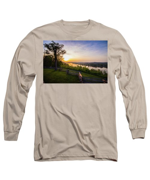 Sunset From Boreman Park Long Sleeve T-Shirt by Jonny D