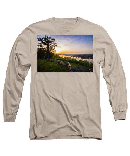 Sunset From Boreman Park Long Sleeve T-Shirt