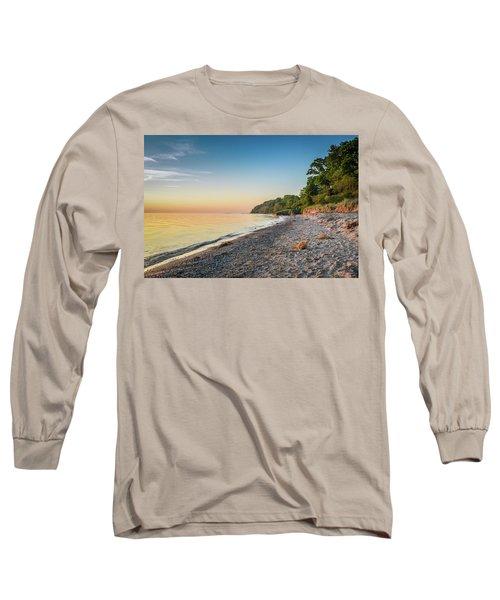 Sunset Glow Over Lake Long Sleeve T-Shirt