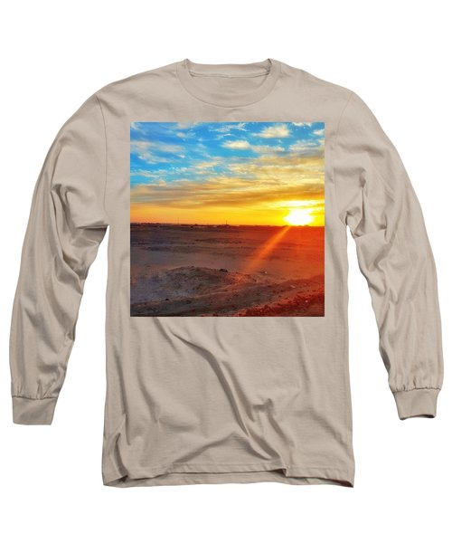 Sunset In Egypt Long Sleeve T-Shirt