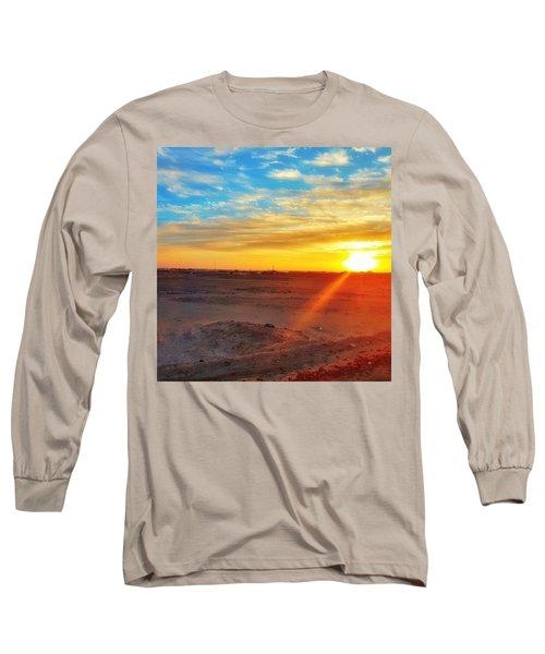 Sunset In Egypt Long Sleeve T-Shirt
