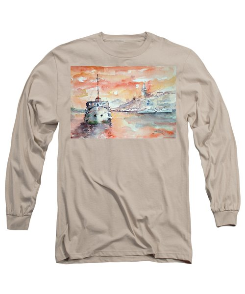 Sunset In Istanbul... Long Sleeve T-Shirt