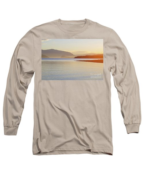 Sunset In The Mist Long Sleeve T-Shirt by Victor K