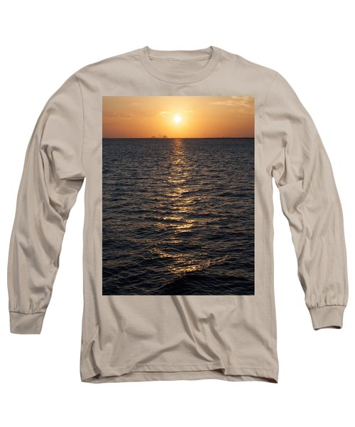 Sunset On Bay Long Sleeve T-Shirt