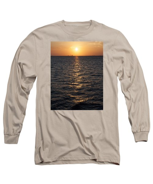 Sunset On Bay Long Sleeve T-Shirt