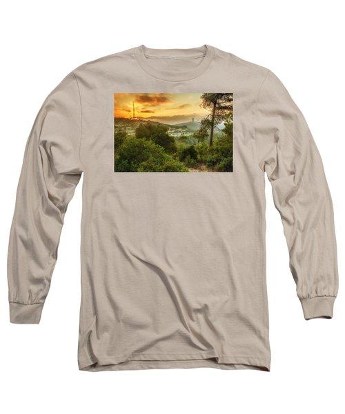Sunset On Carmel Mountain Long Sleeve T-Shirt