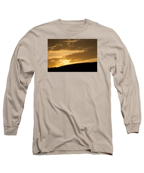 Sunset On Hunton Lane #4 Long Sleeve T-Shirt by Carlee Ojeda