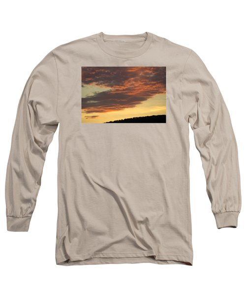 Sunset On Hunton Lane #7 Long Sleeve T-Shirt by Carlee Ojeda
