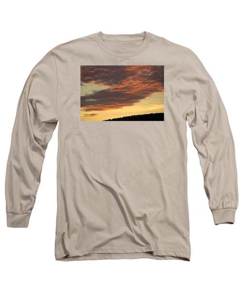 Sunset On Hunton Lane #7 Long Sleeve T-Shirt
