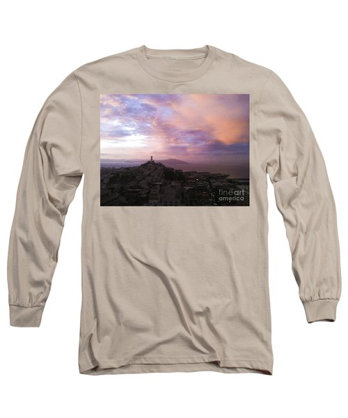 Sunset On The Bay Long Sleeve T-Shirt