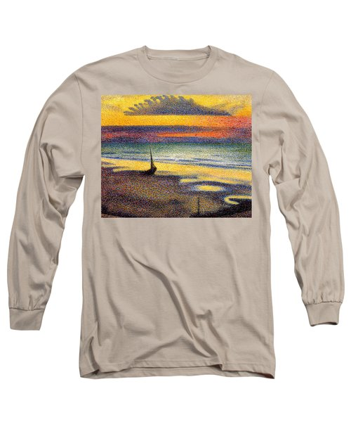 Sunset On The Beach 1891 Long Sleeve T-Shirt