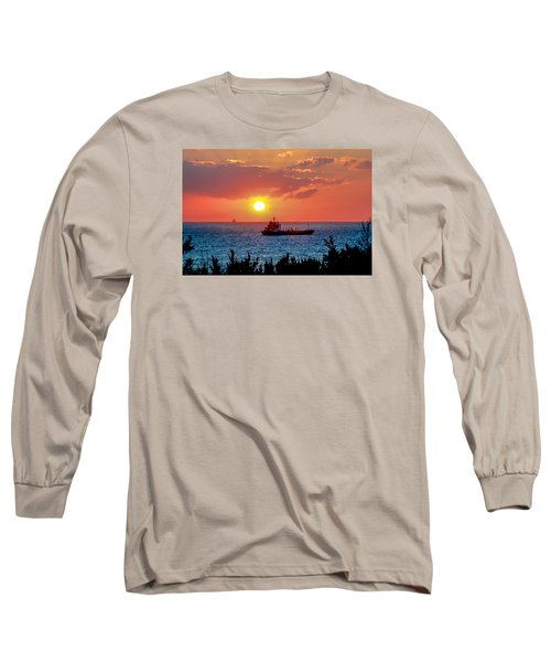 Sunset On The Horizon Long Sleeve T-Shirt