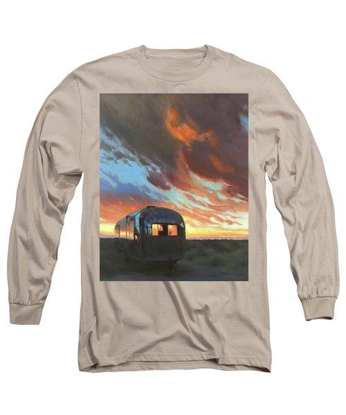 Sunset On The Mesa Long Sleeve T-Shirt