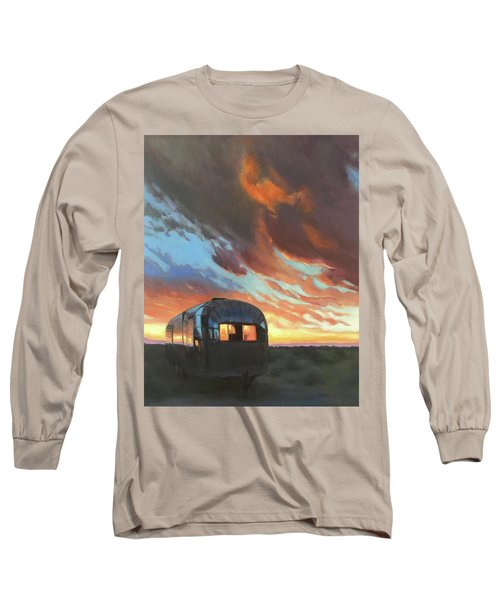 Sunset On The Mesa Long Sleeve T-Shirt