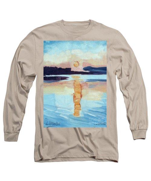 Sunset On Vancouver Island Long Sleeve T-Shirt
