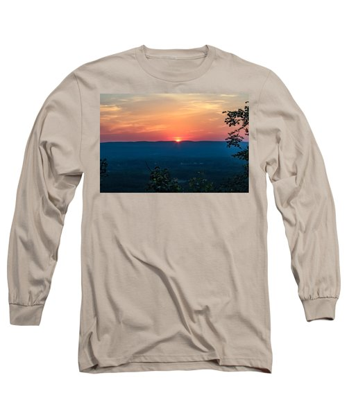 Sunset Over Easthampton Long Sleeve T-Shirt