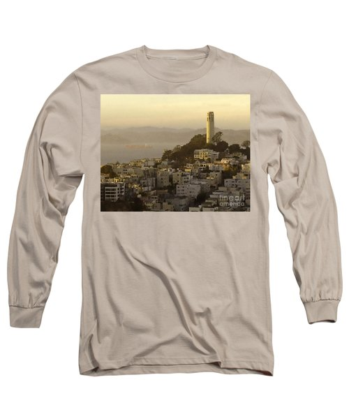 Sunset Over The Water Long Sleeve T-Shirt