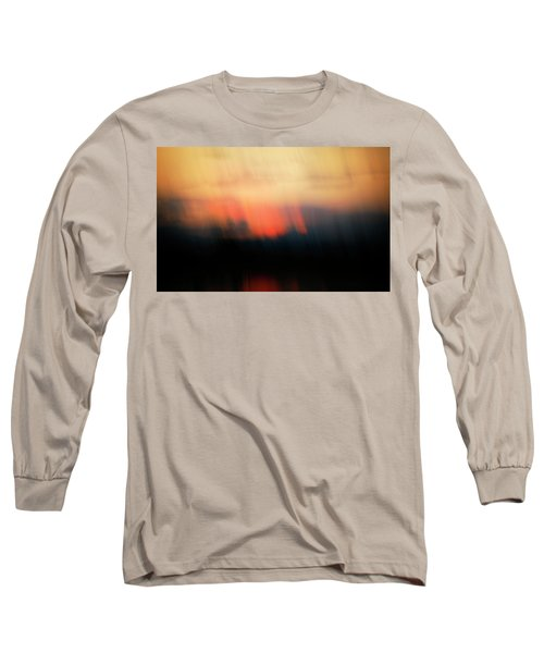Long Sleeve T-Shirt featuring the photograph Sunset Raining Down by Marilyn Hunt