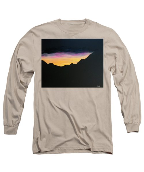 Sunset Silhouette Long Sleeve T-Shirt