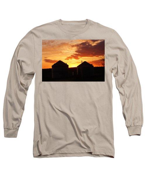 Sunset Silos Long Sleeve T-Shirt