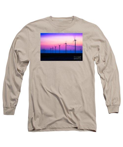 Sunset Spinning Long Sleeve T-Shirt