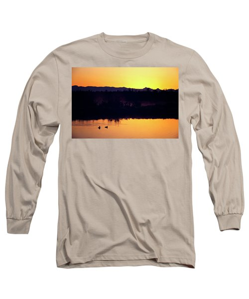 Sunset Swim Long Sleeve T-Shirt