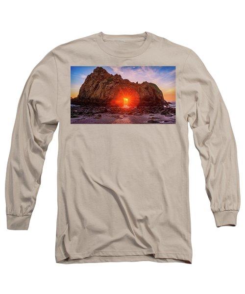 Sunset Through  Long Sleeve T-Shirt