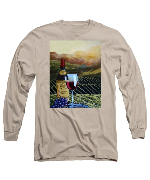 Sunset W/beaujolais Long Sleeve T-Shirt